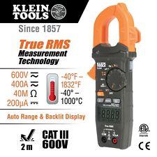 Klein Tools Cl320 Hvac Digital Clamp Meter, Ac Auto-Ranging 400 Amp