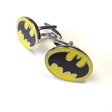 "JustforMoo ""Movie"" Pair of Batman Cufflinks (217)"