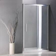 Bathroom Walk In Shower Enclosure Sliding Glass Door Screen Panel Stone Tray