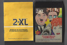 Mego 2-Xl Talking Robot 8 Track Tape Tv And Movie Challenges W/ Booklet Tested