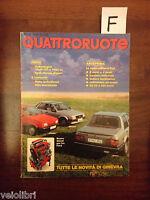 QUATTRORUOTE 341 - MARZO 1984 - VOLKSWAGEN GOLF DTI - SEAT RONDA DIESEL - FIAT