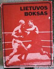 Soviet Union USSR Book Lithuania Boxing and Boxers ~ Many Photos
