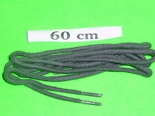 SHOELACES 60CM  FINE ROUND DARK GREY FOR DRESS SHOES ** IN AUSTRALIA ** LACES