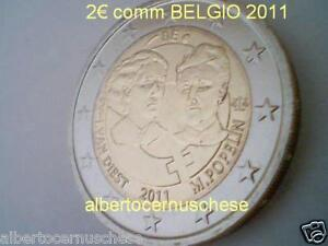 2 euro 2011 BELGIO Belgique Belgica van Diest Popelin Belgium Belgien Бельгия