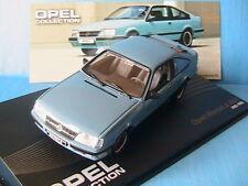 OPEL MONZA A GSE 1983 1986 LIGHT BLUE IXO 1/43 ALTAYA LEFT HAND DRIVE BLEU BLAU