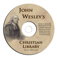 John Wesley-Christian Library-All Volumes-Bible Commentary-Sermons-CD eBook PDF