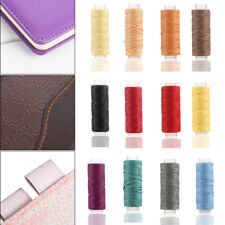 150D Handicraft Hand Stitching Flat Leather Sewing Line Cord Waxed Thread