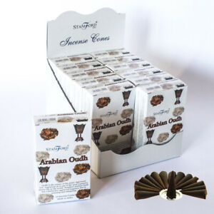 Stamford Arabian Oudh Incense Cones 37222 15X12packs