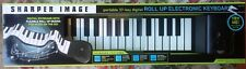 Sharper Image Roll Up Portable Electronic Keyboard