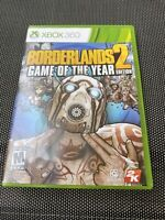 Borderlands 2 Game of the Year Edition (Xbox 360, M, 2013) w/Manual TESTED/WORKS
