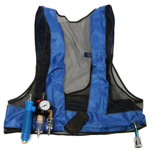 Vortex Tube Air Conditioner Waistcoat Compressed Cooling Vest Welding Steel