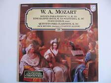 Mozart: Piano Sonata No.11, Eine Kleine Gigue, Fantasia, Clarinet Quintet LP