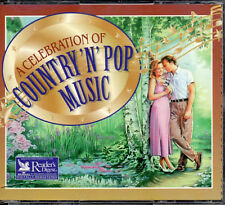 Celebration Of Country n Pop Music  - Reader's Digest 4 CD Box - 81 Tracks