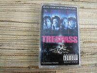 Cassette Tape TRESPASS Movie Music From The Motion Picture Soundtrack Rap Ice