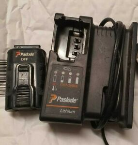Genuine Paslode Lithium 1x Battery 7.2v And Battery Charger FREE FAST DELIVERY