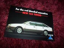 Dépliant pub / Australian Brochure FORD TX5 Turbo (idem MAZDA 626) 198? //