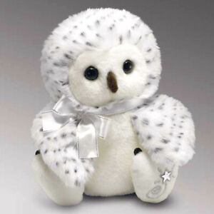 Shining Stars Snowy Owl Plush Soft Toy Russ Berrie Collectible New w/ Tags