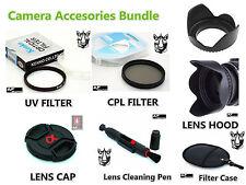 FK57u 62mm CPL UV Filter + Lens Hood + Cap + LensPen for Sony DT 18-135mm lenses