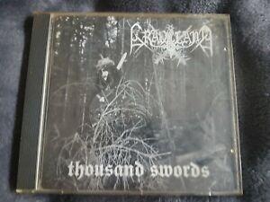 Graveland Thousand Swords Original CD 1995 First Press