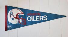 Vintage Houston Oilers Pennant Single Bar Helmet  AFL  1960's