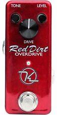 Compressori e sustainer rossi per chitarre