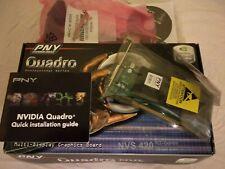 PNY Nvidia NVS 420 4-fach Quad Grafikkarte NEU und VERSIEGELT !