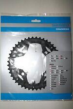 Hoja de cadenas Shimano Alivio fc-M 430, 44 dientes, 3x9, negro nuevo