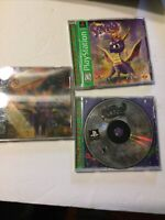 Spyro the Dragon, Spyro 2 Ripto's Rage, Spyro Year of the Dragon PS1 3 Game Bund