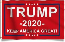 PRINGCOR 3x5FT RED FLAG DONALD TRUMP 2020 KEEP AMERICA GREAT PRESIDENT KAG MAGA