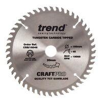 Trend Plunge Saw Wood Blade 160 mm x 48 Teeth x 20 mm Festool TS55 HK55