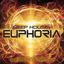 Var-DEEP HOUSE EUPHORIA-3CD-Ministry of Sound-BUY 3 GET 1 FREE-London Grammar