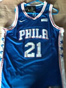 Joel Embid Philadelphia 76ers Sixers Classic Edition Jersey Size 52 NWT