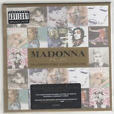 MADONNA LA COMPLETA ESTUDIO ÁLBUMES (1983-2008) BOX 11 CD LIMITADA EDI. SEALED
