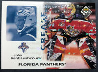 1998 Upper Deck UD Choice Crease Lighting Choice Reserve #247 John Vanbiesbrouck