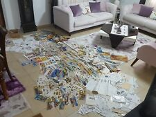 rare  lot 1000? Collection Vintage Paper toy Kit model airplane aircraft&other
