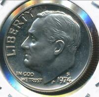 United States, 1974-S Roosevelt Dime 10c - Proof