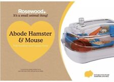 Rosewood Abode Cage Dwarf Hamster and Mice ( Easy Clean, Keeps Mess Inside)