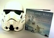 STARS and WARS Signed Book + EFX Stormtrooper Prop Replica Helmet with Autograph