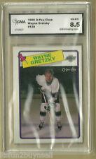 1988 OPC Wayne Gretzky #120  GMA 8.5  NM-MT+ Oilers GRADED