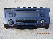13 - 15 NISSAN ALTIMA S SL SV 2.5L I4 CD PLAYER RADIO AM FM MP3 P/N 28185-3TA0A