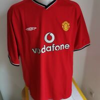superbe maillot  de football manchester united  taille XXL UMBRO