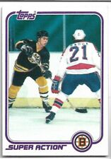 1981 Topps Ray Bourque Boston Bruins #126 Hockey Card
