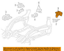 Chevrolet GM OEM 11-15 Cruze-Engine Motor Mount/Torque Strut 13347455
