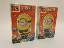 Despicable ME 3  3D 54 Piece Jigsaw Puzzles x2 New Sealed