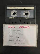 Neil Young Live Elysee Montmartre Paris 11-12-1989 2nd Gen Cassette