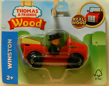 NEW Fisher Price T&F Wood GGG36 Winston & Car