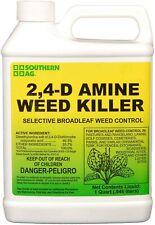 Southern Ag 2,4-D Amine Herbicide 32 oz. Quart Selective Broadleaf Weed Killer