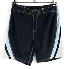 Body Glove Black & Blue Board Shorts Mens Size 34