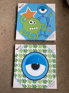 canvas pictures Monsters Children Bedroom New