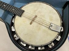 Banjo British Made with Carry Case (see pictures of wear)